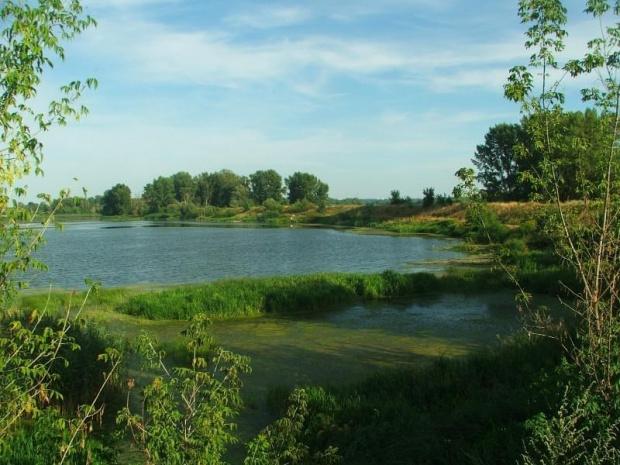 Zbiornik uśredniający Zakładów Azotowych Puławy #rozlewisko #Azoty #Puławy
