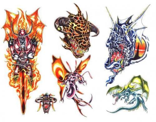 fantasy tatuaż