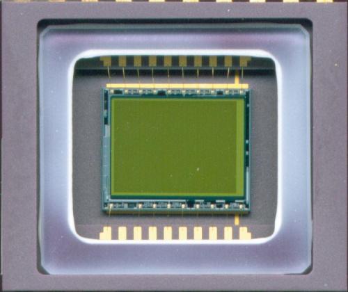 """Przetwornik CCD 1/2 """" SONY ICX039AN-2 strona matrycy CCD"""