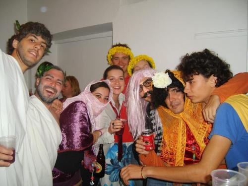zdjecia z ostatniej imprezy kostiuowej,ja bylam latin loverem:P Nie mialam jakos pomyslu!! #ImprezaKostiumErasmus