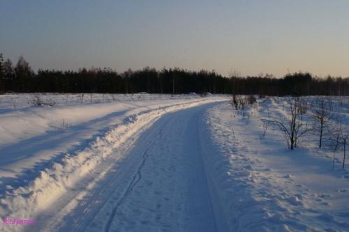 droga na Czystą #Zima