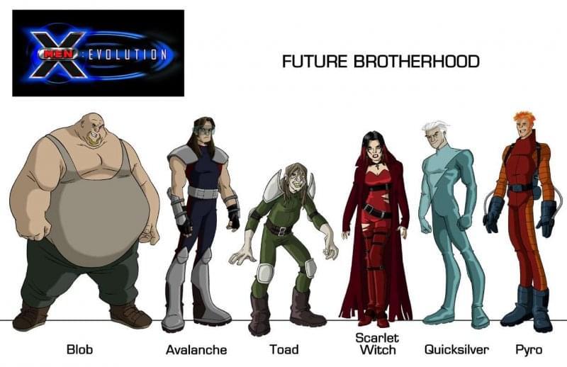 Brotherhood - X-Men Evolution