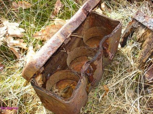 Pojemnik na miny wyskakujące #PojemnikNaMiny #MinaWyskakująca