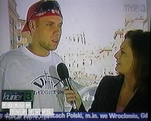 <font color=darkblue size=3><u>2006.04.02 - Kurier TVP3; 10:30 - Watykan.</u></font><br>Urszula Rzepczak - dawniej dziennikarka i prezenterka Informacji w Polsacie, autorka programu podróżniczego Obieżyświat w Polsat 2 Int...