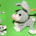 #króliczek #królik #maskotka #szydełko #crocheted