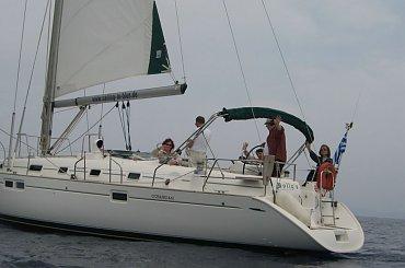 Rejs Grecja 2005 - Morze Jońskie