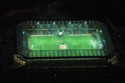 Stadion Korony (foto3) z lotu ptaka. #KoronaKielceKolporterStadion